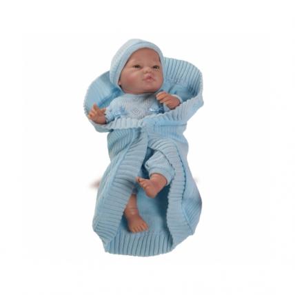 Кукла Бэби с голубым комплектом, 45 см