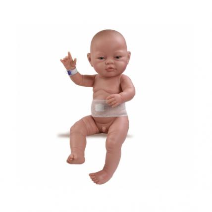 Кукла Бэби с повязкой, европеец, 45 см
