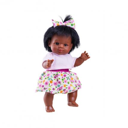 Кукла Флори, мулатка, 21 см
