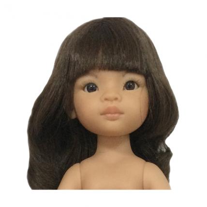 Кукла без одежды Мали, с карими глазами, 32 см