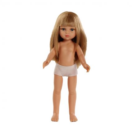Кукла без одежды Карла, с челкой, 32 см