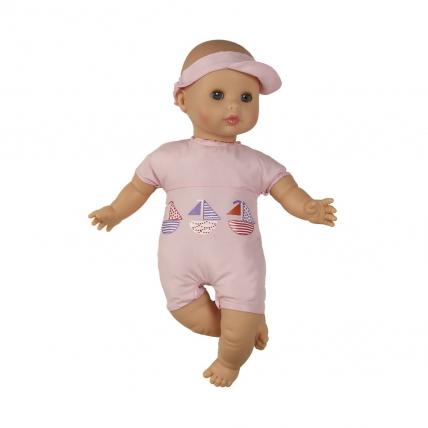 Кукла Малышка в розовом, 34 см