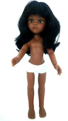 Кукла без одежды Нора, с челкой, 32 см