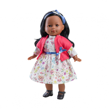 Кукла Эстер, мулатка, 36 см