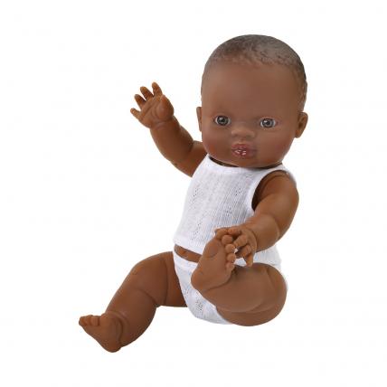 Кукла Горди в нижнем белье, мулатка, 34 см