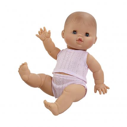 Кукла Горди в нижнем белье, мальчик, европеец, 34 см