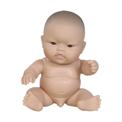 Кукла-пупс в нижнем белье, азиат, 22 см, в пакете