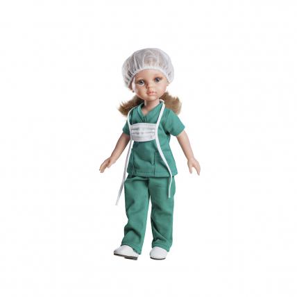 Одежда для куклы Карла — медсестра, 32 см