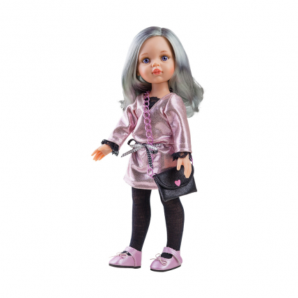 Одежда блестящее платье для куклы Кэрол, 32 см