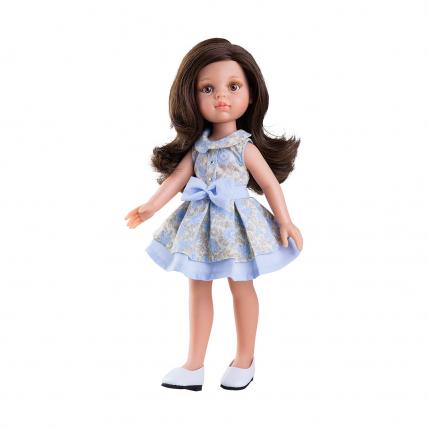 Одежда синее платье для куклы Кэрол, 32 см