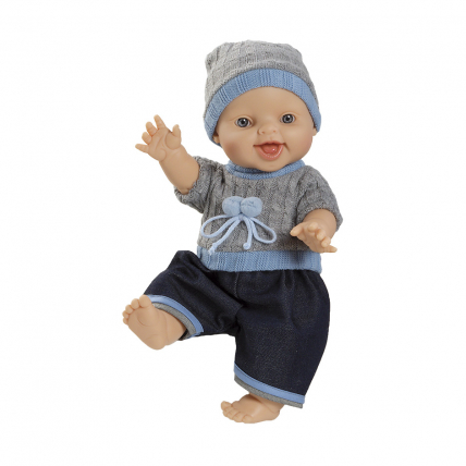 Одежда свитер, штаны и шапочка для куклы Горди, 34 см
