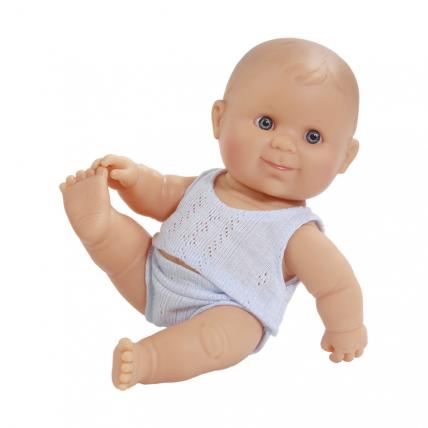 Кукла-пупс в нижнем белье, европеец, 22 см