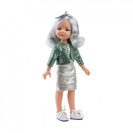 Кукла Маника в блестящем наряде, 32 см