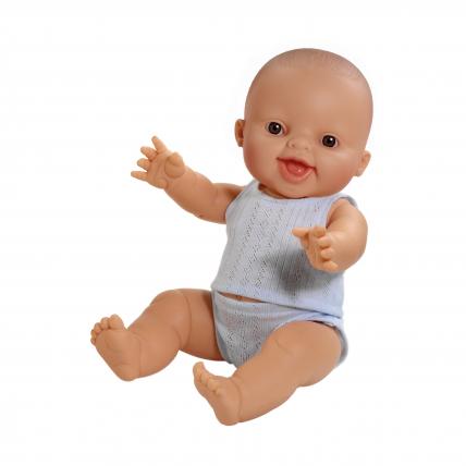 Кукла Горди в синем нижнем белье, 34 см, девочка
