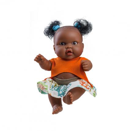 Кукла-пупс Эбе, мулатка, 22 см