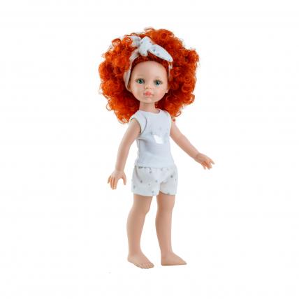 Кукла Каролина в пижаме, 32 см