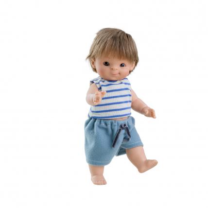 Кукла-пупс Федель, европеец, 21 см