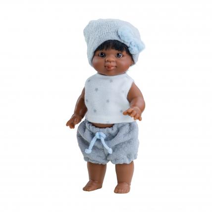 Кукла-пупс Иван, мулат, 21 см