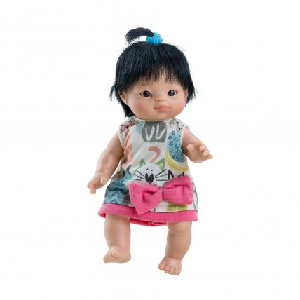 Кукла-пупс Флора, азиатка, 21 см
