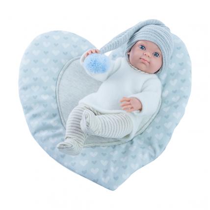 Одежда голубой костюм для куклы Бэби, 32 см