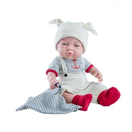 Одежда с якорем для куклы Бэби, 45 см