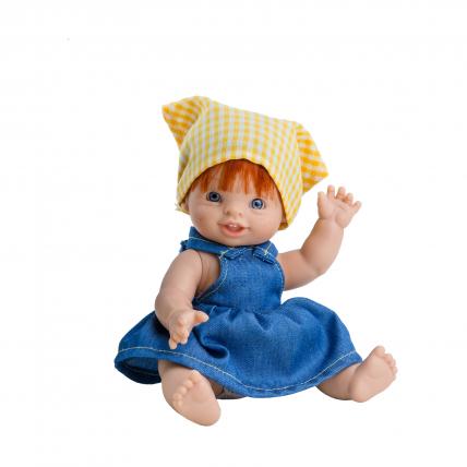 Одежда для куклы пупса Елена, 21 см, европейка