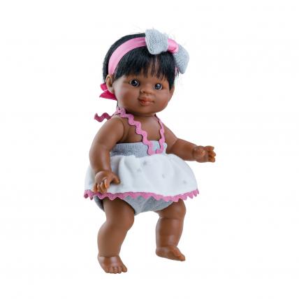 Одежда для куклы пупса Флори, 21 см, мулатка
