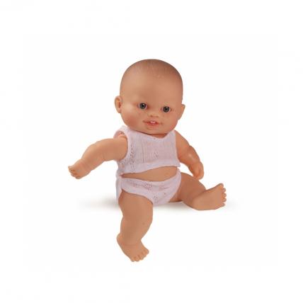 Кукла пупс в нижнем белье, европеец, 22 см