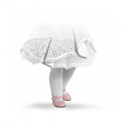 Туфли розовые с застежкой-липучкой, для кукол 60 см