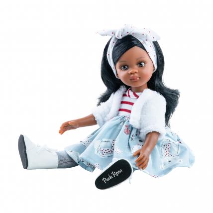 Кукла Нора с волнистыми волосами, 32 см