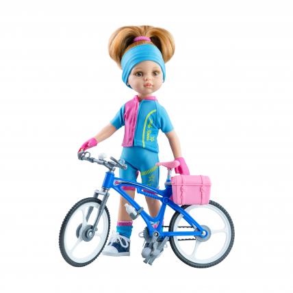 Одежда для куклы Даши велосипедистки, 32 см