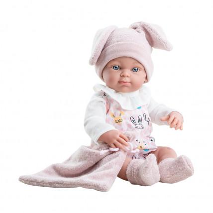 Кукла Бэби в шапке с ушками, 32 см, девочка
