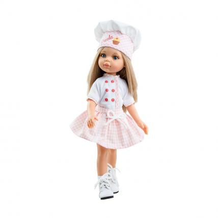 Кукла Карла, кондитер, 32 см