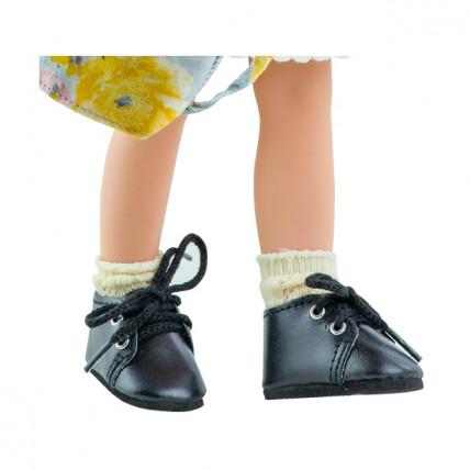 Носочки кремовые, ажурные для кукол 32 см